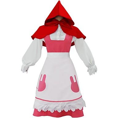 26540757871f Ihlette KARNEVAL Connor Piroska Anime Szerepjáték jelmezek Cosplay ruhák  Egyszínű Hosszú ujj Selyem nyaksál Ing Szoknya