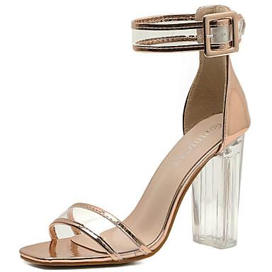 Mujer Zapatos Brillantina Verano / Otoño Gladiador / Pump Básico Sandalias Tacón Stiletto Dorado / Negro / Fiesta y Noche Best-seller À Vendre Vente Magasin D'usine K5XQUr3n6D