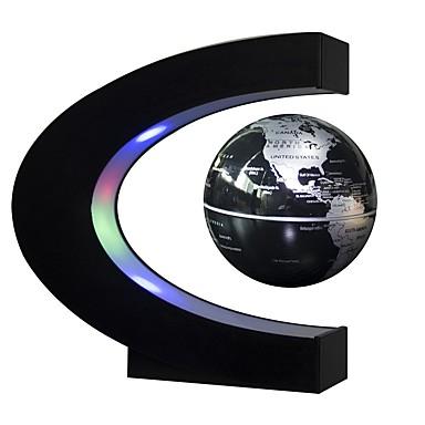 Floating Globe World Map גלגל צף מפות עיצוב מיוחד ריחוף מגנטי Office צעצועים במשרד מְעוּדָן חתיכות פלסטיק ABS סוג א'