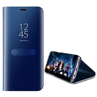 מגן עבור Huawei P10 Lite / P10 עם מעמד / מראה כיסוי מלא אחיד קשיח עור PU ל P10 Plus / P10 Lite / P10
