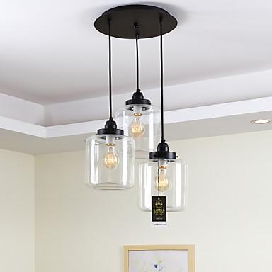Lightinthebox Traditionell-Klassisch Pendelleuchten Moonlight - Ministil, 110-120V 220-240V Inklusive Glühbirne