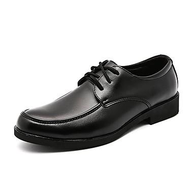 Męskie formalne Buty Skóra bydlęca Wiosna / Jesień Oksfordki Czarny / Komfortowe buty