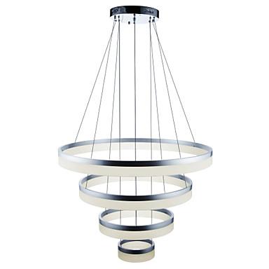Függőlámpák Háttérfény Festett felületek Fém Akril Állítható, Tompítható, Távirányítóval szabályozható 110-120 V / 220-240 V Távirányítóval szabályozható LED fényforrás / Beépített LED
