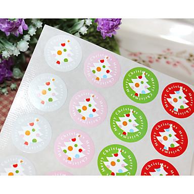 Święta Naklejki, etykiety i tagi - 20 pcs Okrągły Naklejki Na każdy sezon