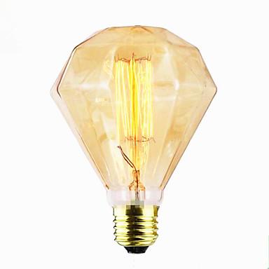 preiswerte Glühlampen-g95 Diamant gerader Draht große Spiral Port bar Pendelleuchte Dekoration Retro-Lichtquelle (40w e27)