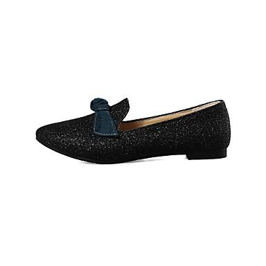 Plat Talon pointu Blanc Bout Noir Rouge Similicuir Ballerines Eté Confort Femme Chaussures 06571441 Printemps YUzqv04