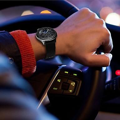 Watch Band na Gear S3 Frontier / Gear S3 Classic Samsung Galaxy Klasyczna klamra Skóra / Nylon Opaska na nadgarstek