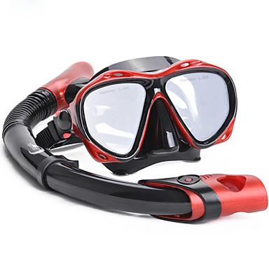 Pakiety nurkowe Zestwy do nurkowania Anti-Fog Pływacki Nurkowanie Silicon Rubber