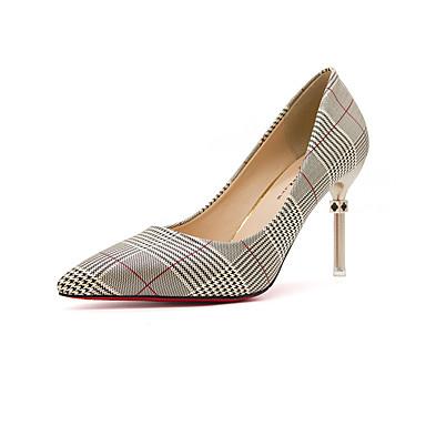 Mujer Zapatos Lentejuelas Verano Pump Básico Tacones Tacón Stiletto Dorado / Negro / Plata nVMVIHpO