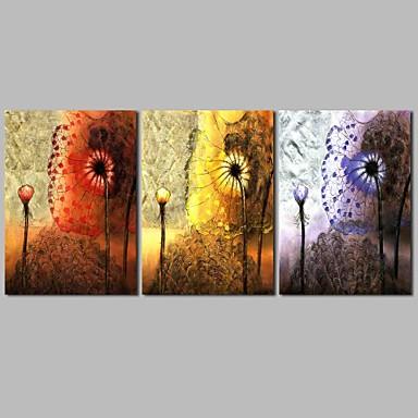 ציור שמן צבוע-Hang מצויר ביד - מופשט קלסי בַּד