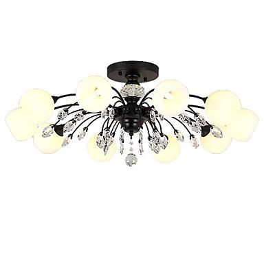 LightMyself™ 10 świateł Żyrandol / Lampy widzące Światło rozproszone - Kryształ, Matowy / a, 110-120V / 220-240V Żarówka w zestawie / G9 / 20-30 ㎡