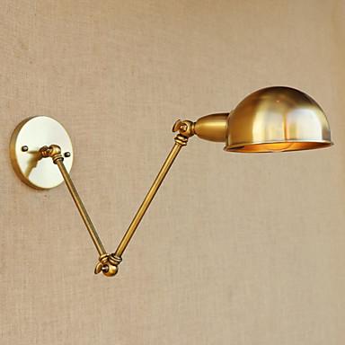 נגד השתקפות / סגנון קטן LED / וינטאג' אורות הזרוע נדנדה סלון / חדר אוכל מתכת אור קיר 110-120V / 220-240V 4W