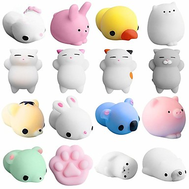 LT.Squishies צעצוע מעיכה חיה חיה Office צעצועים במשרד / הפגת מתחים וחרדה / צעצועים לחץ לחץ דם 5pcs מבוגרים מתנות