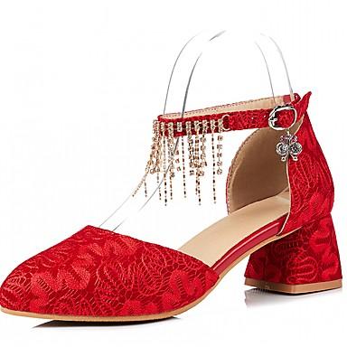 Strass Chaussures Bout Talons Bottier à 06600649 Confort rond Nouveauté Similicuir Printemps Chaussures Noir Talon Femme Automne Jaune O4wxqd8PP