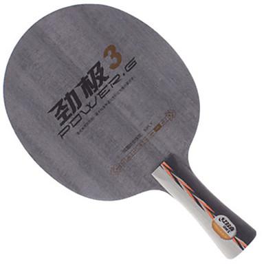 DHS® POWER.G3 FL Ping Pang/מחבטי טניס שולחן לביש מונע החלקה עץ 1