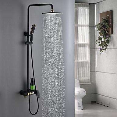 ברז למקלחת - עכשווי צביעה מערכת למקלחת שסתום קרמי
