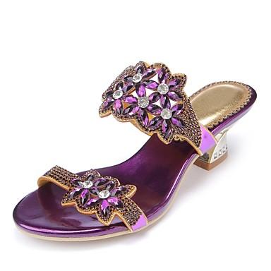 Talon 06601151 la Sandales Bottes Eté Cristal Mode Bottier Strass Brillante Bout Femme Printemps Polyuréthane Paillette à Chaussures ouvert qFpYTp