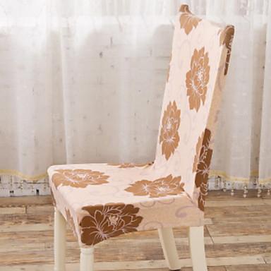 עכשווי 100% פוליאסטר ג'אקארד כיסוי לכיסא, פשוט פרחוני הדפס כיסויים