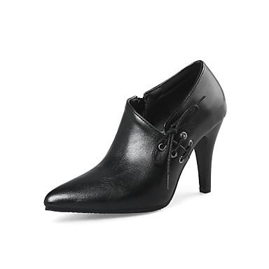 Noir Bout Aiguille Talon Confort Printemps Rouge Chaussures à Similicuir Eté Talons Chaussures 06578179 pointu Femme vw7UBqCxH
