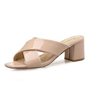 Amande 06647290 Cuir Mocassins Rouge Confort Eté Noir Verni D6148 et Chaussures Chaussons Bottier Printemps Femme Talon AwqxR6aWZn