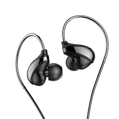 H05 Przewodowy / a Słuchawki Dynamiczny Plastikowy Telefon komórkowy Słuchawka Z kontrolą głośności Zestaw słuchawkowy
