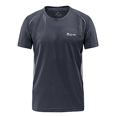 Męskie T-shirt turystyczny Na wolnym powietrzu Szybkie wysychanie, Oddychalność, Odvádí pot T-shirt Nie dotyczy Kemping i turystyka / Ćwiczenia na zewnątrz / Multisport