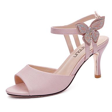 Aiguille Chaussures Escarpin Automne Verni 06608135 Sandales Femme Talon Cuir Soirée Gladiateur amp; Blanc Basique Eté Evénement Rose vBqUdA