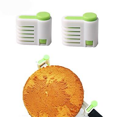 Backwerkzeuge Kunststoff Verstellbar Brot / Kuchen Kuchen Cutter / Gebäckschneider 1pc