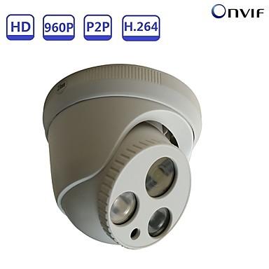 STRONGSHINE ST-POEP1325D03R 1.3 mp Kamera IP w pomieszczeniach Wsparcie sol / Kopuła / Przewodowa / CMOS / 50 / 60