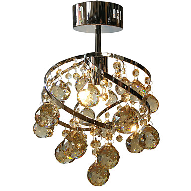 LightMyself™ Modern / Zeitgenössisch Unterputz Raumbeleuchtung - Kristall LED, 110-120V 220-240V, Wärm Weiß Kühl Weiß, Inklusive Glühbirne