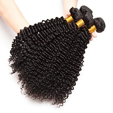4 zestawy Włosy brazylijskie Curly 8A Włosy naturalne Doczepy z naturalnych włosów Kolor naturalny Ludzkie włosy wyplata Rozbudowa Gorąca wyprzedaż Ludzkich włosów rozszerzeniach Wszystko