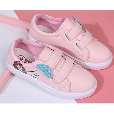 Dla dziewczynek Obuwie PU Wiosna Wygoda Adidasy na Biały / Różowy