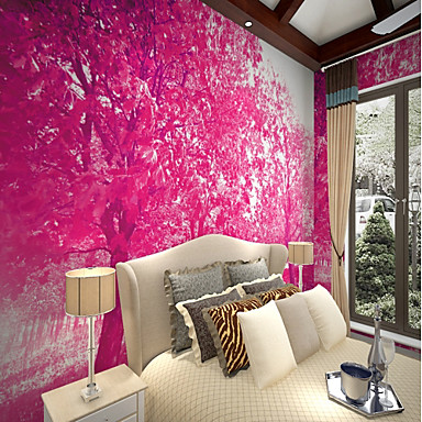Mural Canvas Wall Covering - Adhesive required Botanical Art Deco 3D ...