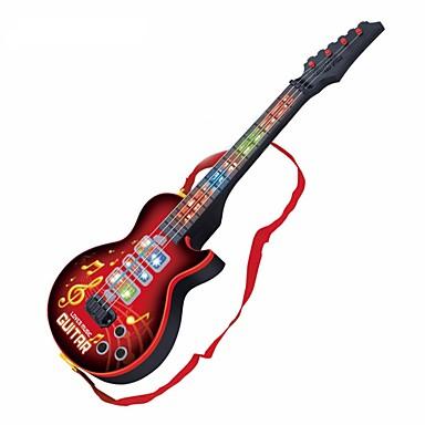 Gitara elektryczna Gitara Światła Muzyka Dla chłopców Dla dziewczynek Zabawki Prezent 1 pcs