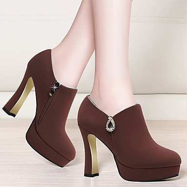 Automne Noir Gladiateur Basique Rouge Fourrure Bout Chaussures Escarpin Chaussures Femme Bottier Hiver 06649624 Talons pointu à Talon I6pxqSEnwn