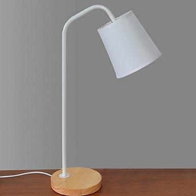 Artystyczny Dekoracyjna Lampa stołowa Na Metal 220-240V Biały / Czarny