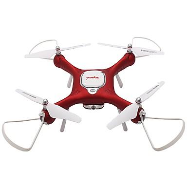 billige Fjernstyrte quadcoptere og multirotorer-RC Drone SYMA X25W 4 Kanal 6 Akse 2.4G Med HD-kamera 2.0MP 720P Fjernstyrt quadkopter FPV / En Tast For Retur / Hodeløs Modus Fjernstyrt