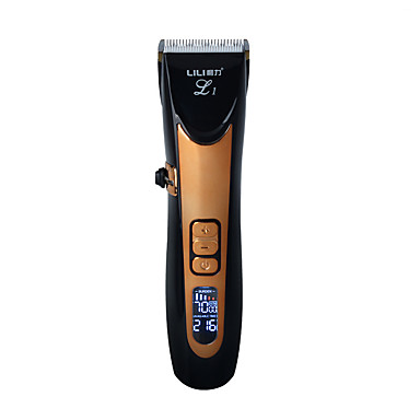 de344255df6 USB Ceramic R-Blade Hair Trimmer Rechargeable Hair Clipper 4X Extra  Limiting Comb Silent Motor for Children  Baby Men