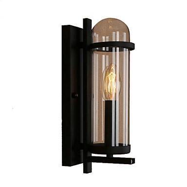 מגן עין מסורתי / קלסי מנורות קיר חדר שינה מתכת אור קיר 220V 40 W / E27