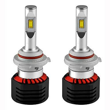 2pcs H8 / 9006 / H1 Samochód Żarówki 80W LED zintegrowany 8000lm 2 LED Lampka sufitowa For Univerzál Wszystkie modele Wszystkie roczniki