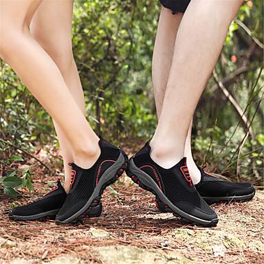 06665240 foncé Rouge Gris Tulle D6148 Femme Confort Plat Chaussons et Automne Chaussures Mocassins Eté Noir Gris Talon OBRxZwqa