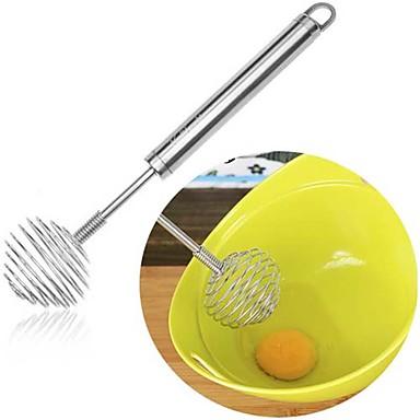 oțel inoxidabil lingură de miere amestecătoare dipper swizzle lingură stick bate ouă amestecare instrument misc