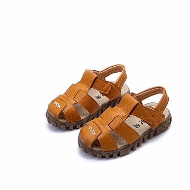 cfcc46a06 cheap Kids' Shoes-Boys' Leather Sandals Toddler(9m