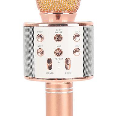 WS858 Bezprzewodowy / Bluetooth Mikrofon Inne Mikrofon dynamiczny Mikrofon ręczny / Moda Na Bar / Mikrofon do karaoke