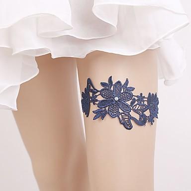 Dantelă Stil Vintage Nunta Garter Cu Perle / Găuri Jartiere Nuntă / Party & Seară