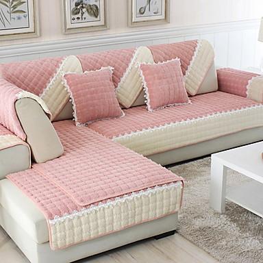 Pokrowiec na sofę Jendolity kolor / Geometryczny Reactive Drukuj Poliester slipcovers