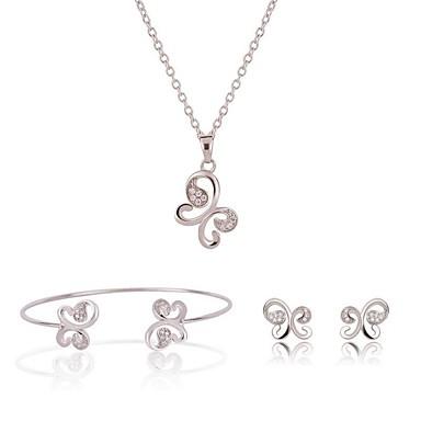 Pentru femei Set bijuterii - Vintage, Modă Include Argintiu Pentru Ceremonie Stradă / Σκουλαρίκια