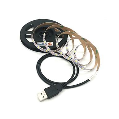 billige LED Strip Lamper-ZDM® 3M Lysslynger 300 LED SMD 2835 Varm hvit / Kjølig hvit Kuttbar / USB / Koblingsbar USB-ladet 1pc