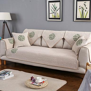 Pokrowiec na sofę Rośliny Reactive Drukuj Bawełna / Poliester Slipcovers