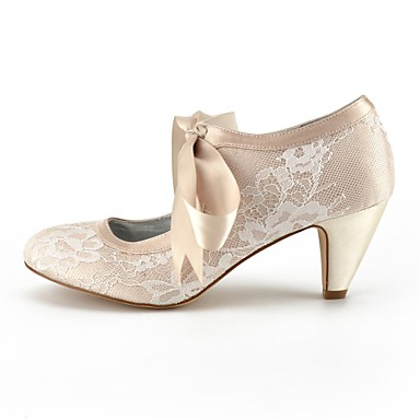 Chaussures Champagne Dentelle Ivoire Chaussures Eté 06681329 Argent de mariage Femme Cône Talon Confort 4pwfdqpvZx